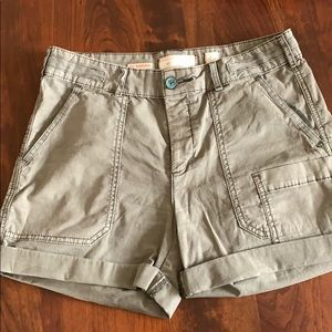 Anthropology woman's shorts